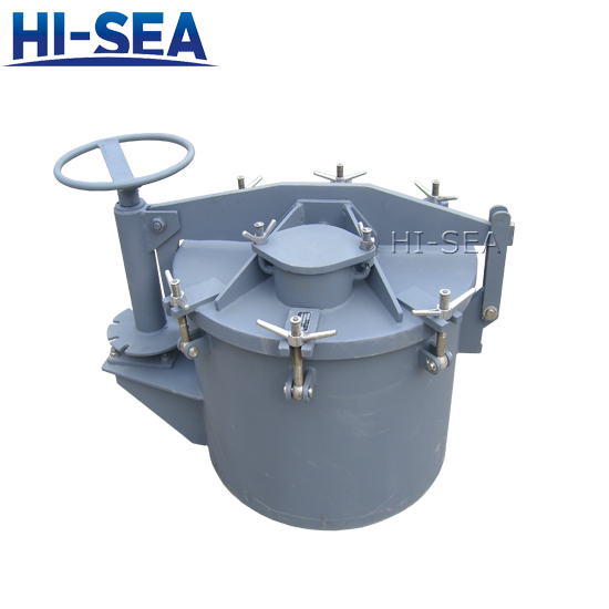 Rotating Oiltight Hatch Cover for Ships