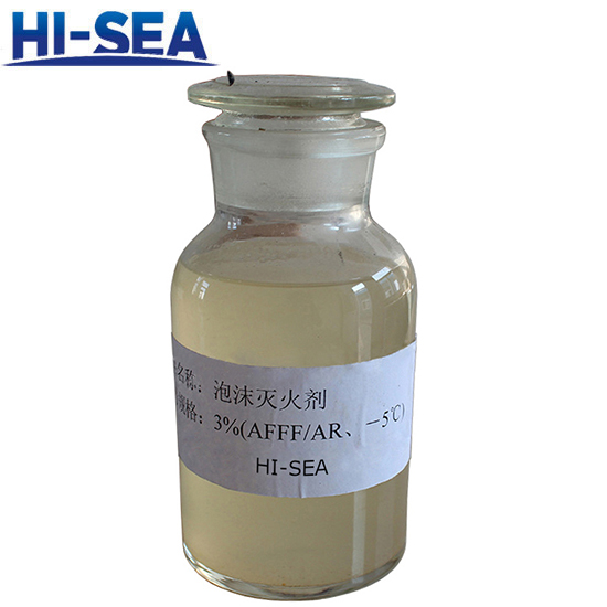 Alcohol Resistant Aqueous Film-forming Foam Extinguishing Agent