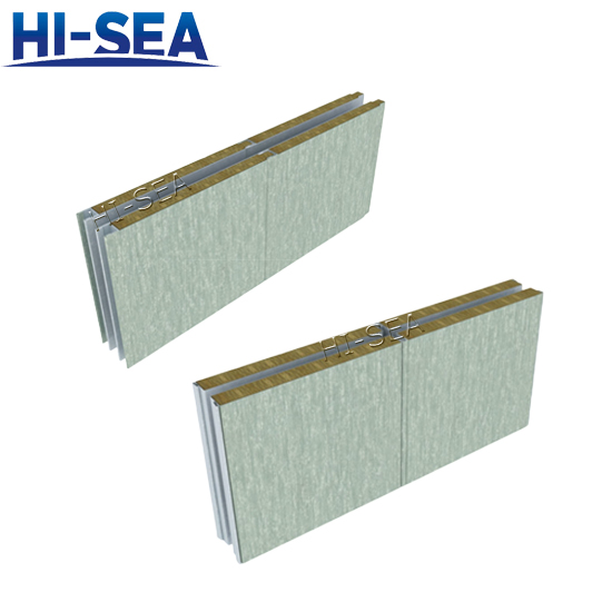 Marine Double-layer Acoustic Wall Panel