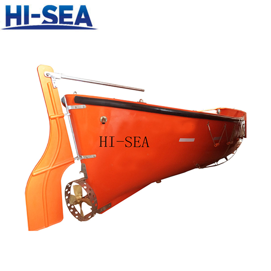 Open FRP Lifeboat