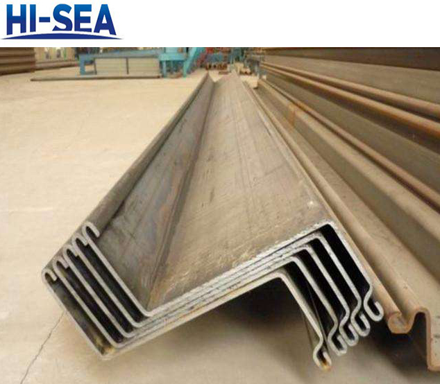 Cold Formed Z Type Steel Sheet Pile