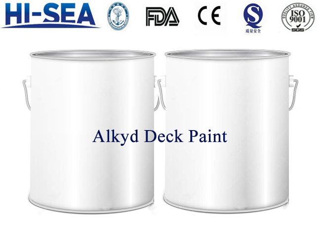 Alkyd Different Colors Deck Paint