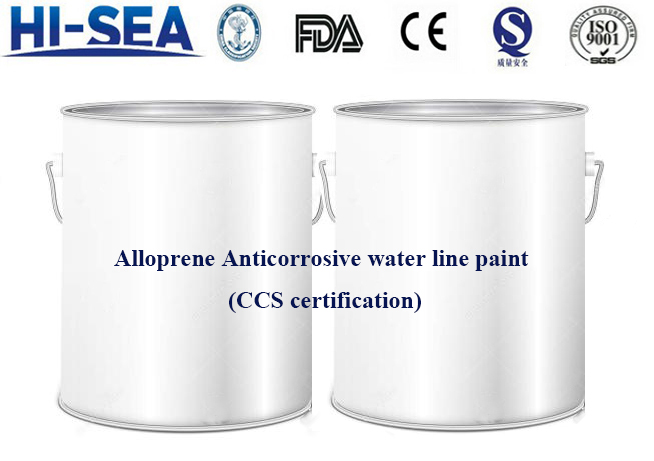 Alloprene Anticorrosive water line paint (CCS certification)