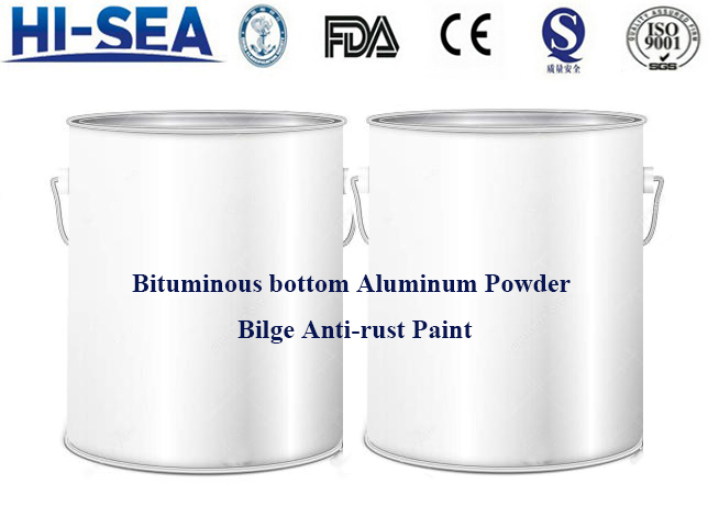 Bituminous Bottom Aluminum Powder Bilge Anti-rust Paint