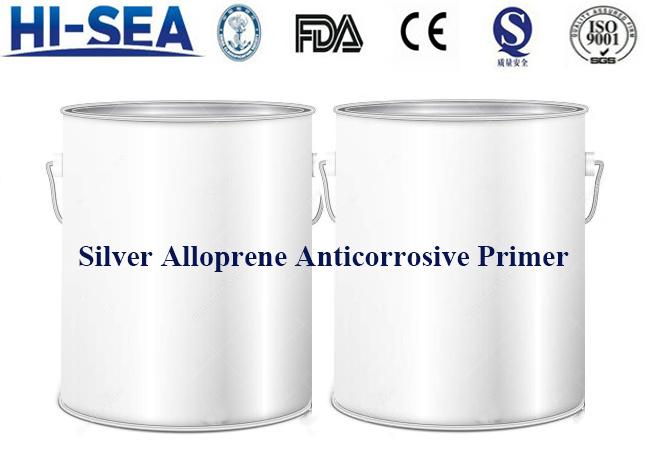Silver Alloprene Anticorrosive Primer
