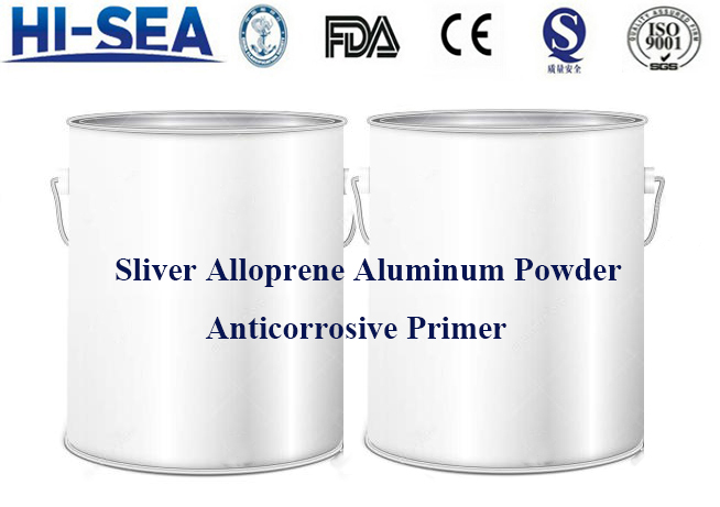 Sliver Alloprene Aluminum Powder Anticorrosive Primer