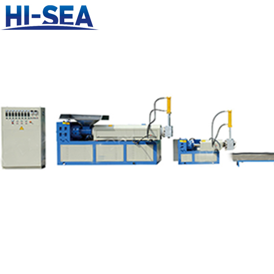 LDF Series Film with Water Recycling Pelletizer