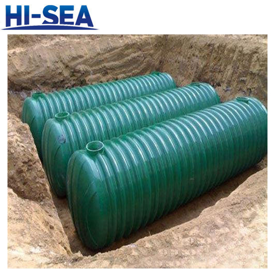 FRP Corrugated Septic Tank